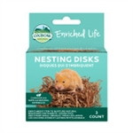 OXBOW ANIMAL HEALTH ENRICHED LIFE NESTING DISKS UPC 744845966915