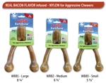 PET QWERKS BARKBONE WISH BACON LARGE (UP TO 80 LBS) UPC 850000085879