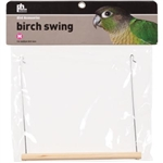 "PREVUE HENDRYX PET PRODUCTS BIRD CAGE SWING 8.5"" BIRCH KEET  UPC 048081132043"