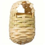PREVUE HENDRYX PET PRODUCTS FINCH BAMBOO COVERED NEST  UPC 048081011546
