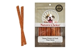 ** SPECIAL PURCHASE WHILE SUPPLIES LAST ** LOVING PETS PRODUCTS DOLLAR PROGRAM 2 OZ. SWEET POTATO AND DUCK MEAT STICKS 50 COUNT/ PRICE EACH PIECE UPC 842982080041