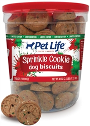 SUNSHINE MILLS 6/2.5# PET LIFE SPRINKLE BISCUITS  UPC 04174601008