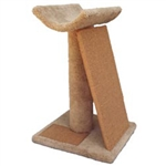 "WADE'S CAT TREES MODEL SPVP 18"" X 16"" POST 24"" W/ PERCH  - WEIGHT 24 UPC 856825001247"