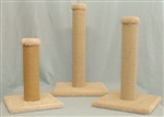 "WADE'S CAT TREES MODEL SPOST18 SISAL POST 18""  -N WEIGHT 7lbs UPC 856825001360"