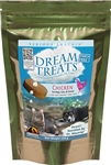 WYSONG CHICKEN DREAM TREATS 125G BAG  UPC 085835991297