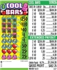$250 TOP - Form # 1243VK Cool Bars 25 Cent Ticket