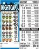 $100 TOP - Form # 1258UK Nightcap $1.00 Ticket