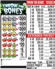 $300 TOP - Form # 1331UZ Throw The Bones $1.00 Ticket