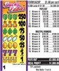 $250 TOP - Form # 6629P Lucky Ladies $1.00 Ticket