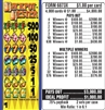 $500 TOP - Form # 6873X Jackpot Jester $1.00 Ticket