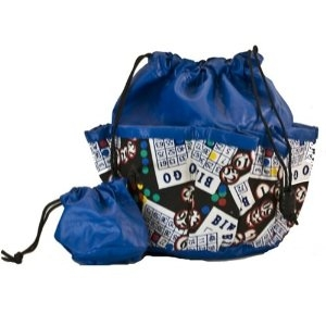 Deluxe 10-Pocket Bingo Dauber Bag - Classic