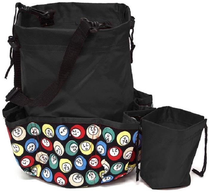 Deluxe 10 Pocket Bingo Dauber Bag Ball