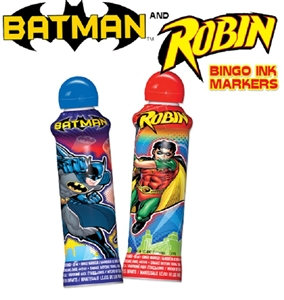 Batman and Robin Bingo Daubers 3 oz