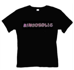 Bingoholic Black T-Shirt