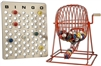Bingo Cage Set - Large Red