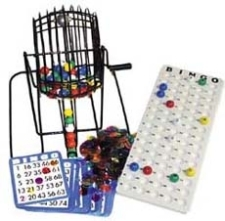 Bingo Cage Set - Small