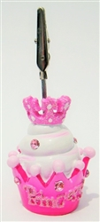 Princess Cupcake Bingo Admission Ticket Holder