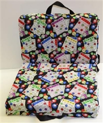 Deluxe Bingo Double Cushion - Card