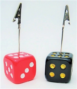 Dice Bingo Admission Ticket Holder