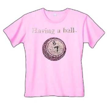 Having A Ball Bingo T-Shirt
