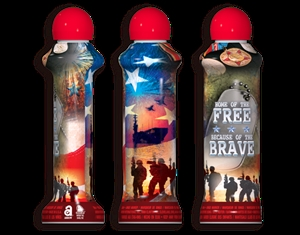"Labor Day ""Home Of The Brave"" Bingo Dauber"