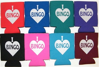 Bingo 12 oz Can Collapsible Koozie