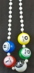 Bingo Balls Necklace