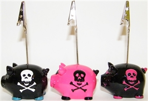 Pirate Piggy Bingo Admission Ticket Holder