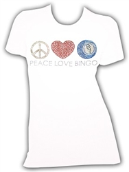 Peace Love and Bingo TShirt