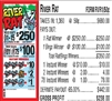 $250 TOP - Form # RVR1 River Rat $0.50 Bingo Event Ticket