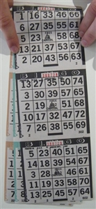 3 ON 3 UP Bingo Paper