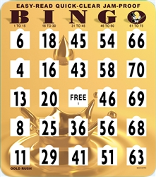 Bingo Jumbo Jam Proof Quick Clear Shutter Card