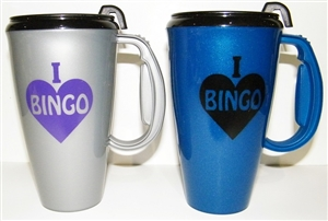 Bingo Travel Mug - 16 oz