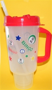 Bingo Travel Mug 32 oz.