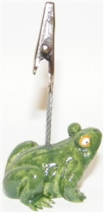 Ceramic Toad Bingo Admission Ticket Holder