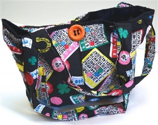 Bingo Tote Bag Quilted