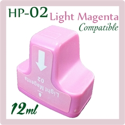HP 02 Light Magenta