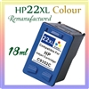 HP 22XL Tri-Coloue Ink Cartridges, HP 22