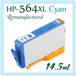 HP 564XL Cyan Ink Cartridge, HP 564