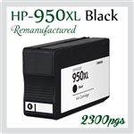 950 XL Black (CN045AA, Compatible)