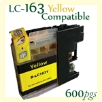 Brother LC161 LC163 Yellow
