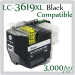 Brother LC3619XL Black
