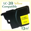 Brother LC39 Yellow