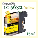 Brother LC563 Yellow