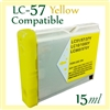 Brother LC57 Yellow
