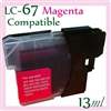 Brother LC67 Magenta