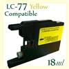 Brother LC77 Yellow