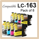Brother LC161 LC163 set