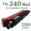 Compatible Brother TN240 Black