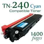 Compatible Brother TN240 Cyan
